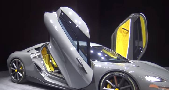 Koenigsegg Gemera ali