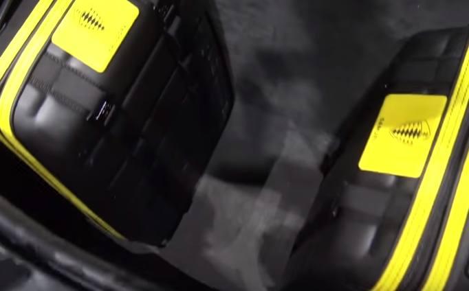 Koenigsegg Gemera vano bagagli