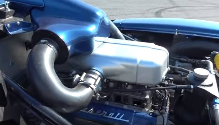 motore V12 Maserati